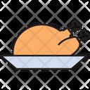 Whole Chicken Icon
