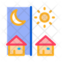 Day Night Remote Icon