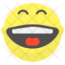Full Laugh Laugh Happy Icon