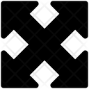 Full Screen Arrows Maximize Icon