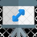Full Screen Expand Arrow Icon