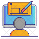 Full Stack Designer Icon