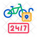 Hour Bike Sharing Icon