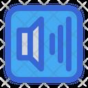 Full Volume Sound Speaker Icon