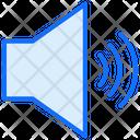 Full Volume Speaker Sound Icon