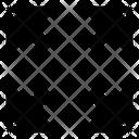 Fullscreen Arrow Direction Icon