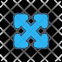 Fullscreen Expand Maximize Icon