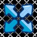 Fullscreen Maximaze Resize Icon