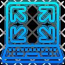 Fullscreen Maximize Arrow Icon