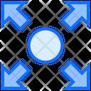Fullscreen Expand Direction Icon