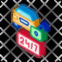 Fulltime Service Icon