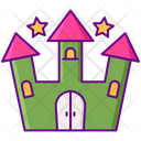 Fun House Amusement Entertainment Icon