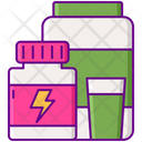 Functional Food Beverages Icon