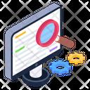 Functional Analysis Functional Testing Web Testing Icon