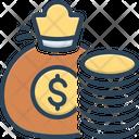 Fund Money Money Bag Icon