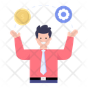 Financial Manager Fund Manager Asset Manager Icon