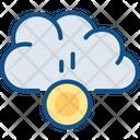 Cloud Funding Money Icon