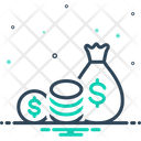 Funding Finance Cash Icon