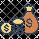 Funding Finance Money Icon