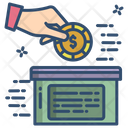Funding Investment Donation Icon