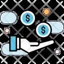 Funds Monetary Help Ecommerce Icon
