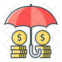 Funds Protection Insurance Money Protection Icon