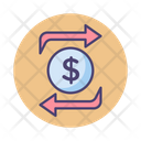 Mfunds Transfer Funds Transfer Money Exchange Icon