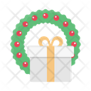 Funeral Christmas Gift Icon