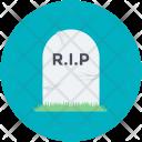 Funeral Death Gravestone Icon