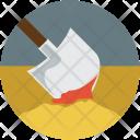 Funeral Death Shovel Icon