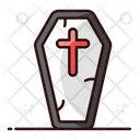 Funeral Box Coffin Casket Icon