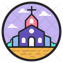 Funeral Home Church Chapel Icon