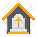 Funeral Home Tombstone Gravestone Icon