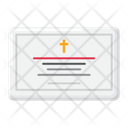 Funeral Notice Funeral Document Funeral Paper Icon