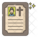 Funeral Notice Icon