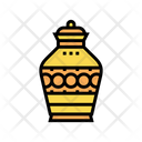 Funeral Urn Color Icon