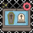 Funeral Program Icon