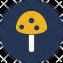 Fungus Mushroom Organic Food Icon