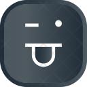 Funky Funny Face Icon