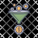 Funnel Money Exchange Icon
