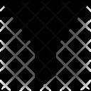 Descending Filter Funnel Icon
