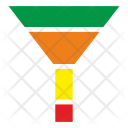 Funnel Conversion Data Icon