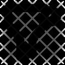 Funnel Conversion Filter Icon