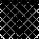 Funnel Filter Laboratory Funnel Icon