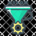 Assembler Funnel Converter Convert Icon