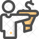 Funnel Money Coin Icon