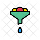 Funnel Filter Petrol Icon