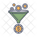 Funnel Money Cash Icon