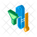 Funnel Tube Home Icon