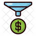Funnel Funneling Business Icon